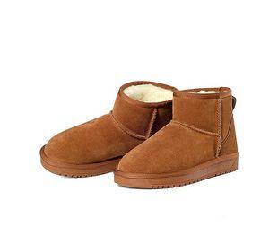 2017 высокое качество кожа снег сапоги 7 цветов zapatos mujer ботильоны для женщин зимние сапоги botas femininas зимняя обувь размер 35-44