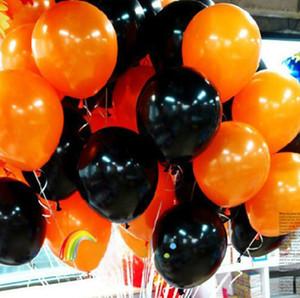 Festival balloon Christmas Decorations Lantern 10 inch Matt round balloon Holiday Party Wedding Halloween Balloon Decoration acc252