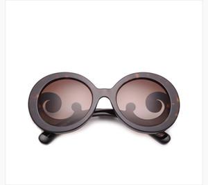 새로운 선글라스 spr27n gafas 드 솔 선글라스 방식 타원 상자 선글라스 남자와 여자의 태양 안경 컬러 필름 oculos 브랜드
