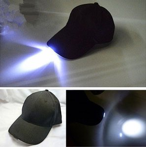 Bright LED Cap Glow in dark for Reading Fishing Jogging Light up LED Sport Hat baseball caps Christmas luminous Holiday hats