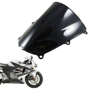 Protetor de pára-brisa de pára-brisa de bolha duplo para Honda CBR 600RR 2005-2006 F5