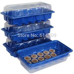 Бесплатная доставка 30 мм торфяные гранулы с 2-мя детскими лотками, стартовый набор для семян, стартовый набор для тепличных растений, детский набор для семян