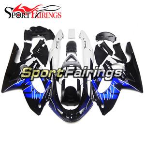 바디 프레임 야마하 YZF600R Thundercat 1997 - 2007 Complete Motorcycle Kit ABS Fairing 플라스틱 블루 블랙 신규