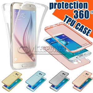 Для Iphone 11 Pro MAX Case 360 ​​градусов Полного тела случаев Front Back TPU для Samsung Note 10 Plus Прозрачного Clear Skin Cover