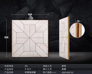 Rovere laminato camera da letto in laminato Decor decorazione decorativa coperta pavimento in laminato Forniture da pavimento opere d'arte art set decor