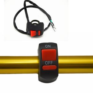 Universal Motorrad Lenker Nebelscheinwerfer Schalter ON-OFF Taste Schalter 12 V DC Für U5 U7 LED Kopf Lampe Angel Eyes lichtdruckschalter