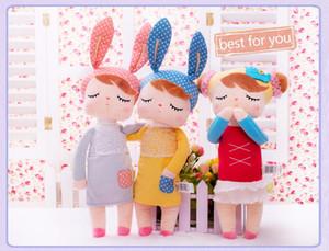 Metoo das Crianças Bonecas De Pelúcia 2016 Crianças meninas Meninos adorável coelho de pelúcia coelhos brinquedos bebês presentes Frete Grátis