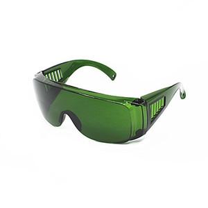 Les lunettes de protection rouges de lunettes de protection de la lumière d'OPT / E / IPL / instrument de beauté de laser rouge ont absorbé le verre de la pièce 340-1250nm