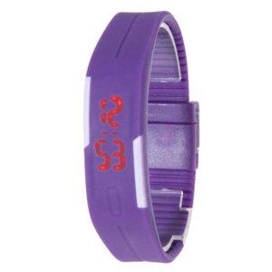 2016 New Fashion Men Women Rubber LED Watch Date Sports Bracelet Digital Wristwatch 5 Colors
