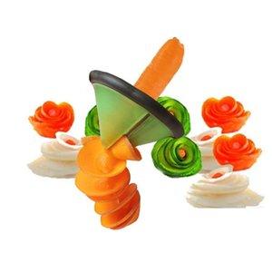 Artilugios de cocina creativa Vegetales Spiralizer Slicer Accesorios Herramienta de cocina # R571