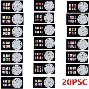 2017 новая мода аэрография ногтей трафареты набор 241-260Tools Diy аэрография 15x шаблон листа для аэрограф комплект ногтей краска