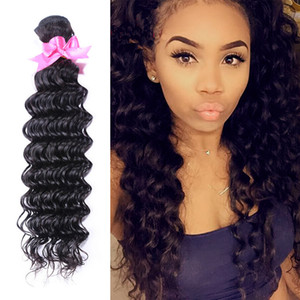 Derin Dalga Sıkı Kıvırcık Brezilyalı Bakire Saç Uzatma 7A Işlenmemiş kinky kıvırcık saç İnsan saç Dokuma Rosa Kraliçe saç ürünleri