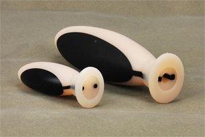 Dildo Shock E-Stim Electro Anal Toys Plug Kit de silicona. Pulso femenino masajeador sexo icopf