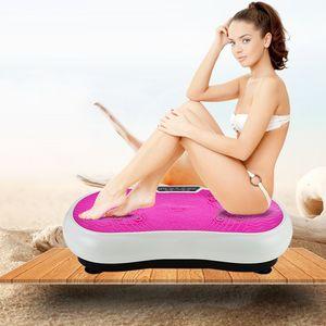 Plate-forme intelligente Oscillant Vibration exercice Plate Minceur machine folle Fit Massage Minceur perte de poids périphérique Fitness Music Play