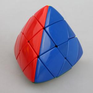 Envío gratis ShengShou Mastermorphix Zongzi Rice Dumpling 3x3x3 Stickerless Magic Cube Magic Puzzle Velocidad Clásico juguete de aprendizaje