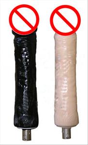Accessoires de sexe mitrailleuse Silicone Extra Large Dildo Dongs Attachments Dildos énormes Meubles mitrailleuse de sexe pour femme