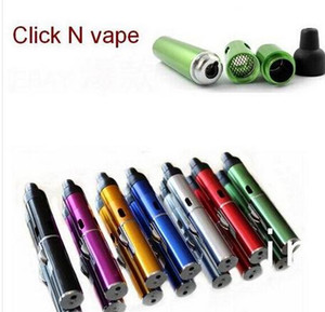 """Click N Burn """"Briquet"""" Pen Vaporisateur à base de plantes Tuyau à fumer Touch Briquet à flamme avec lampe intégrée à l'épreuve du vent, torche Click N Vape"""