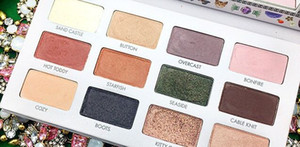 2017 최신 메이크업 LORAC California Dreaming 12 colors Eyeshadaw Palette DHL 무료 배송 재고 있음 고품질