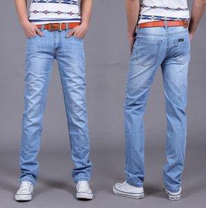 Большая распродажа весна лето джинсы тонкие Бесплатная доставка мужская мода джинсы мужские брюки одежда новый модный бренд