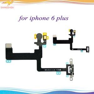 Powe Flex für iPhone 6p 6Plus Power-Knopf Schalter-Flexkabel 6 und 5.5 On Off-Band-Mikrofon-Flash-Wohnung mit Metall