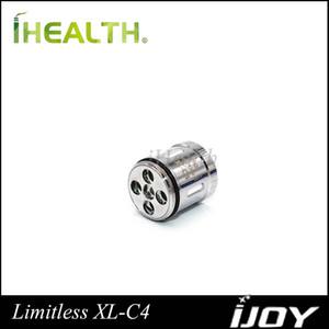Bobine de puces iJoy Limitless XL-C4 0.15ohm (50-215W) pour Limitless XL RTA 100% d'origine