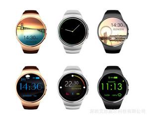 KW18 MTK2502C montre intelligente connectée montre Bluetooth pour Samsung HTC Huawei LG Xiaomi Smartphones Android Soutien Sync Appeler Messager DHL