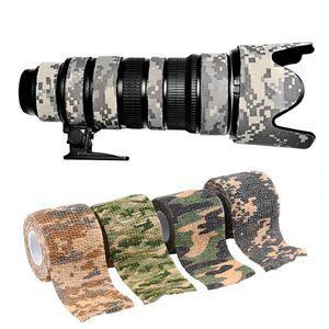 Водонепроницаемый 5cmx4.5m армия камуфляж стрейч ленты Cs пейнтбол камуфляж кемпинг охоты маскировка ленты пейнтбол acessorios