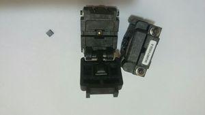 Plastronics 08QN50T43020 QFN8PIN WSON8P 0.5MMPITCH IC TEST VE SOKET IN BURN