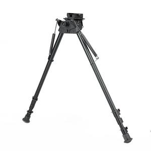 Nuovo arrivo accessorio tattico bipiede tattico da 27 pollici nero gamma di altezza circa 38-63 cm per uso esterno CL17-0027