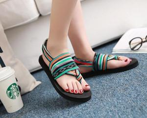 Бесплатные shippingsandals женский летний Рим клип носок квартира со студентами Богемия Национальный ветер досуг пляжная обувь