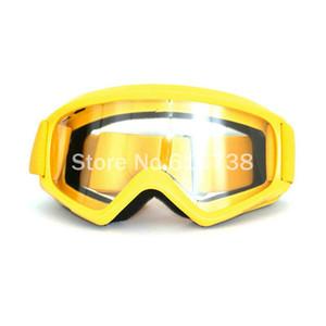 6 Colori Occhiali trasparenti Motocross Occhiali da moto da corsa Antipolvere Bici da bicicletta Outdoor Occhiali da sole Occhiali da moto