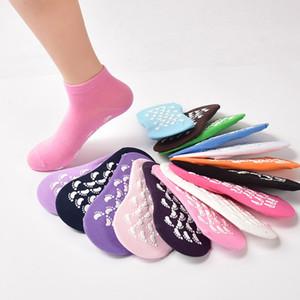 Big Children Women Non-slip Yoga Short Socks Colorful Cotton Floor Ankle Socks Toe Men Breathable Women Physical Good Grip Socks HH7-82