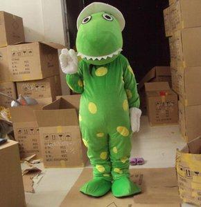 2018 Alta qualità Dorothy il costume della mascotte del dinosauro termini testa materiale Spedizione gratuita