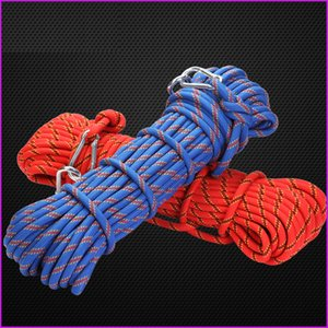 Outdoor Hiking Camping Rope Cord Accessory, 10mm Diameter 3KN High Strength Cord Safety Rope Survival Equipment For Sports Outdoors Fishing
