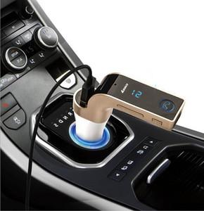 Transmisor FM Multifunción 4-en-1 CAR Bluetooth con USB Reproductor de MP3 unidades flash Transmisor de radio TF con pantalla LCD USB Micrófono