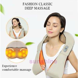 ¡CALIENTE! Equipo multifuncional de cuidado de la salud infrarrojo de la calefacción Equipo del hogar de la acupuntura que amasa el hombro del cuello Massager de la celulitis