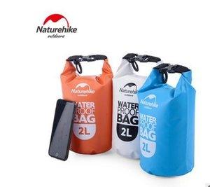 Naturehike Açık PVC Su Geçirmez Kuru Çuval Saklama Çantası Rafting Spor Kayaking Kano Yüzme Çantası Seyahat Kitleri 5L