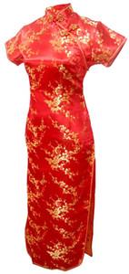상하이 이야기 새로운 도착 중국어 전통 의류 중국 스타일의 드레스 긴 cheongsam 중국어 전통 드레스 Qipao 여러 가지 빛깔의