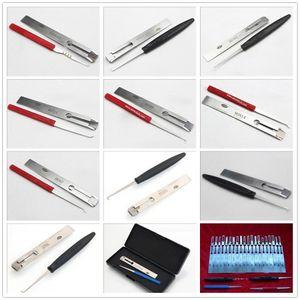 di vendita calda 33 tipi di Auto LISHI grimaldello strumento di auto insieme fabbro HU83 HU92 MAZ24 HU100R TOY40 e più