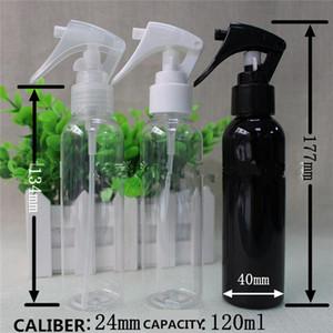 Şişe 100 ML Yüksek Kaliteli Sprey Şişe Plastik Şişeler Parfüm Şişeleri Araba Hemşirelik Sıvı Şişe Süngü Memesi Beyaz Ve Şeffaf