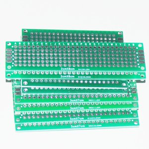 Wholesale-8pcs PCB 프로토 타입 회로 보드 Protoboard Stripboard 프로토 타이핑 브레드 보드 2 * 8 + 3 * 7 + 4 * 6 + 5 * 7 CM 2pcs 각 양면 모듈