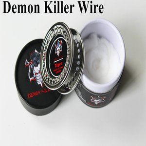 Demon Killer Wire Coil Alien Clapton Hive Tiger Flat Mix Twisted 15 Feet Roll con cotone biologico DIY RDA RTA Bobine DHL LIBERA