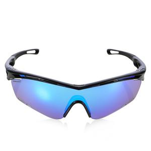 Robesbon TR90 Polarized Sport Goggles Солнцезащитные очки для мужчин Женщины, велосипедные на велосипеде Бег с неразружной рамкой