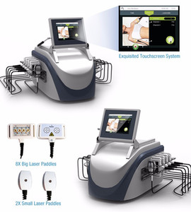 Lipo Laser Lipolysis que adelgaza la máquina de la belleza de la eliminación de las celulitis El cuerpo más fresco del laser del diodo 650nm de la reducción de la grasa que reduce la quema gorda