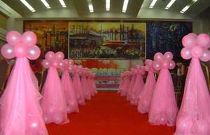Cortina da festa de casamento Fabricante Decoração do casamento Neve Yarn Casado Casamento Gauze Bow Decoração Wedding Suprimentos