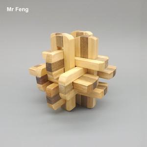 الصين القديمة الأجداد التقليدية أداة خشبية الدماغ دعابة العقل لعبة لغز ألعاب تعليمية