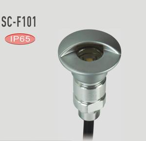 Unterirdische Lampen wasserdichtes LED Plattform-Schritt-Licht vertiefte Treppen-Lampe Paitio In-Boden Scheinwerfer-Garten-Lampe / Wand, die 12V 10pcs / lot beleuchtet