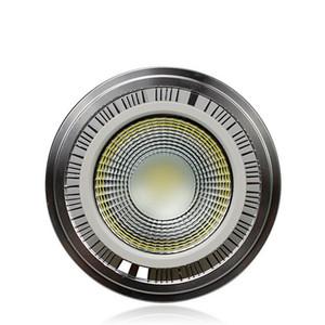 LED COB Holofotes AR111 15W Dimmable COB ES111 QR111 GU10 G53 110 V 120 V 220 V 230 V 240 V Igual 120 W Lâmpada de halogéneo 2800-7000 K