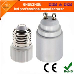 E27 Bankası Vida Işık Lambası Ampul Tutucu Adaptör Soket Converter Lamba Ampul Adaptörü Dönüştürücü LED E27 için GU10 Soket Tutucu GU10