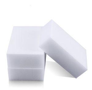 الأبيض سحر الميلامين الإسفنج 100 * 60 * 20MM تنظيف الإسفنج ممحاة متعدد الوظائف دون التعبئة أدوات التنظيف المنزلية حقيبة